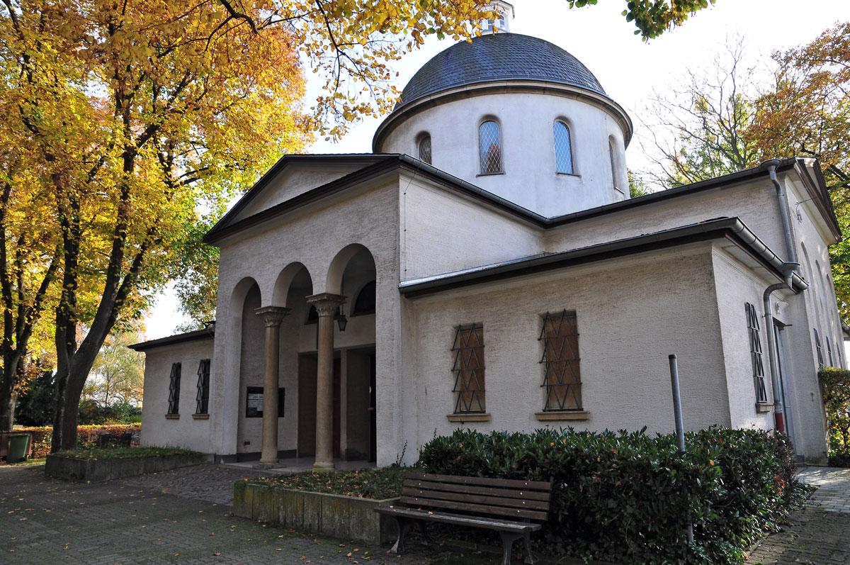 Käfertal kirche mannheim orthodoxe Heiliges Licht